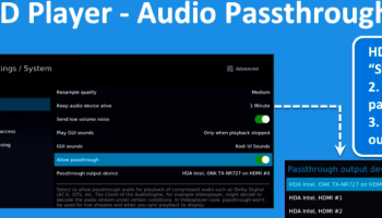 Plex NAS with HDMI & SPDIF controlled via handheld remote
