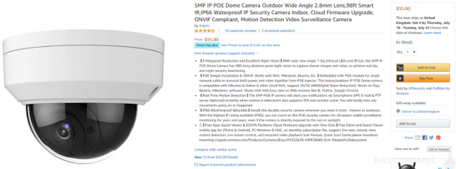 NAS IP Camera Deals this Prime Day 2019 - Amcrest, Anpviz Hikvision