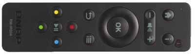 new qnap remote control for NAS via HDMI IR