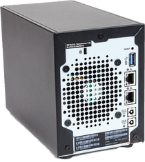PR2100 BACK WITH PORTS DUAL psu wd nas