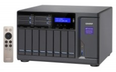 "Qnap Desktop NAS TVS-1282-i7-32G 12-Bay (8x 3.5"", 4x 2.5""), RAID 0/1/5/6 (32GB RAM, Core i7)"