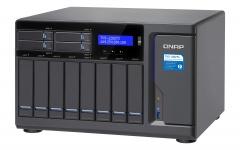 "Qnap Desktop NAS 10GbE+TB3 TVS-1282T3-i5-16G 12-Bay (8x 3.5"", 4x 2.5""), RAID 0/1/5/6 (16GB RAM, Core i5) + 10GbE + Thunderbolt 3"