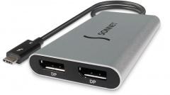 Sonnet Thunderbolt 3 Adapter TB3-DDP4K Thunderbolt3 to Dual DisplayPort Adapter