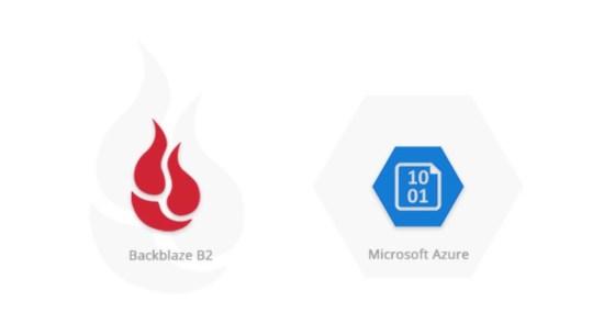 Cloud Sync ahora es compatible con Microsoft Azure y Backblaze B2