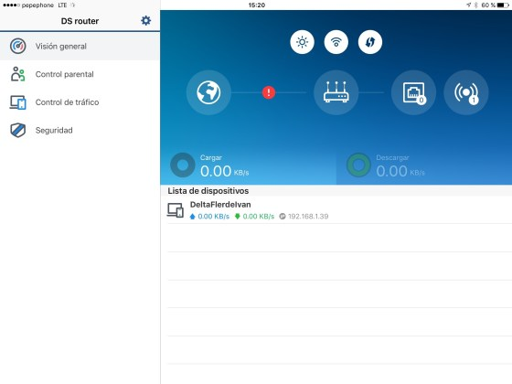 App movil Router Synology RT1900AC