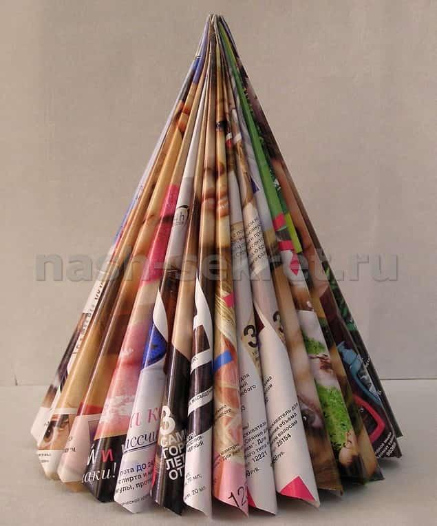 Pomul de Crăciun din revista