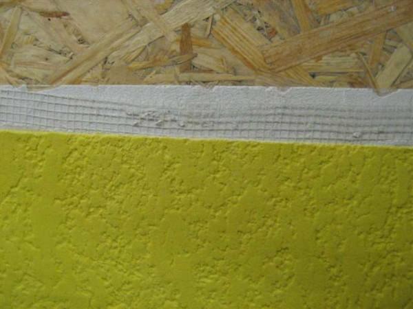 Штукатурка поверх слоя шпаклевки и малярной сетки