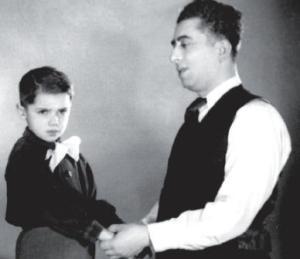 Арам Хачатурян с сыном Кареном