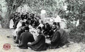 Армянский пикник в Карпуте, 1914 год