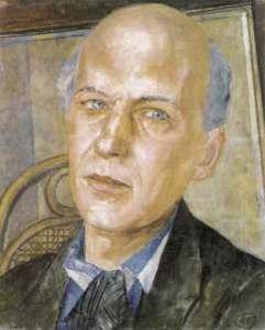 Андрей Белый. Портрет работы К.С.Петрова-Водкина. 1932