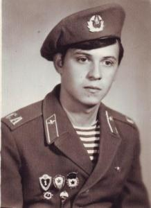 Вадим в армии, в десантных войсках