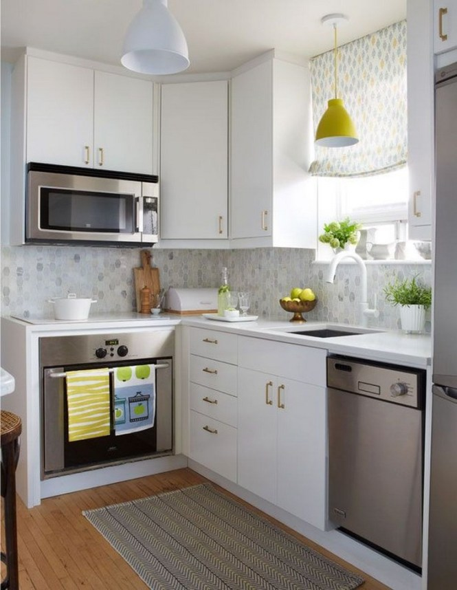 30 Creative Small Apartment Kitchen Ideas