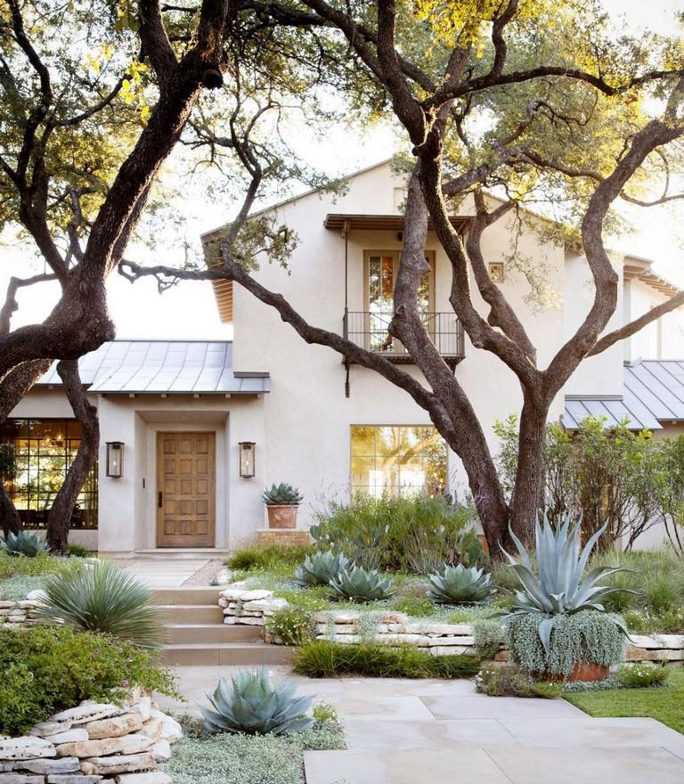 23+ Cool Modern Front Yard Landscaping Ideas on Modern Backyard Landscape Ideas id=20622