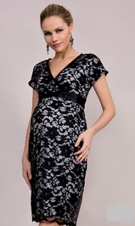 Вечерние платья для беременных. Мода 2012 года - фото ...