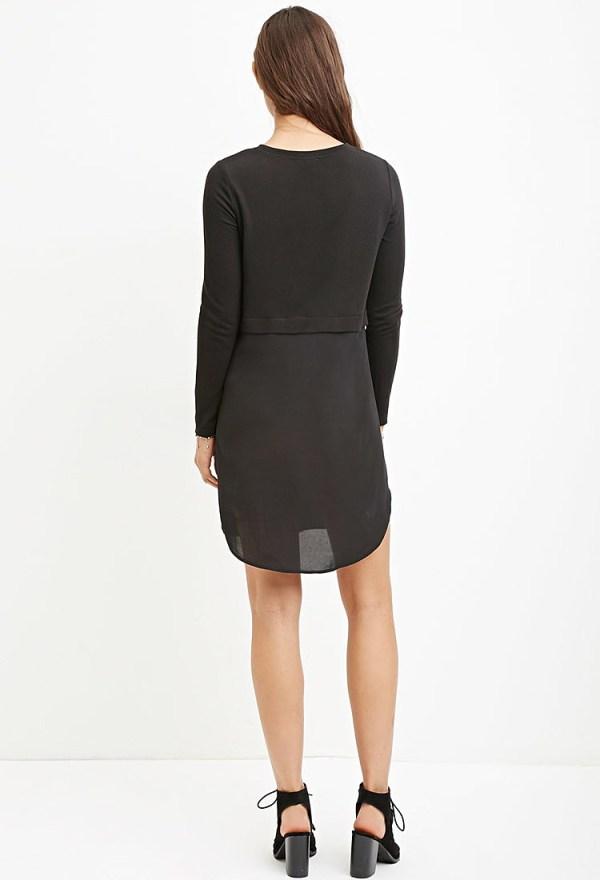 Комбинированное платье купить в интернет магазине одежды ...