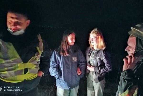 Под Днепром ночью в лесу потерялись две девочки (Фото)