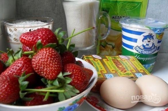 Йогуртовый торт с клубникой: нежный рецепт десерта (Фото)