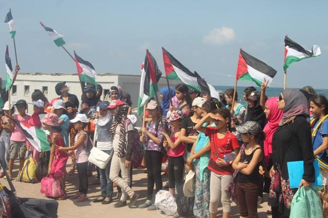 صيفيات نادي بنات فلسطين 2014