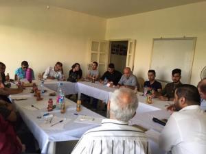 جمعية ناشط ومنتدى الاعلاميين الفلسطينيين ينظمان ورشة عمل اعلامية في صيدا*