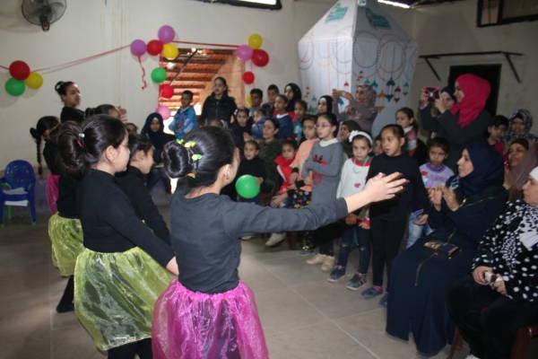 نادي بنات فلسطين وبسمة أمل اختتما عام ٢٠١٧