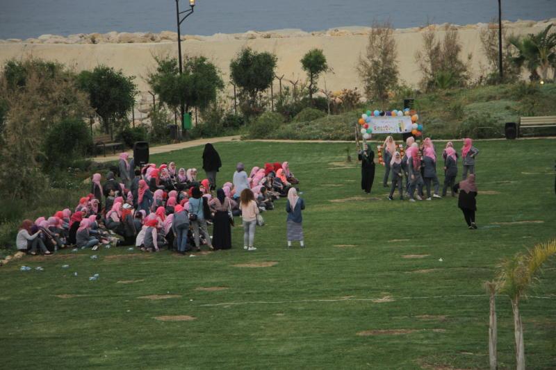 """جمعية ناشط تشارك مدرسة الفالوجة في اليوم المفتوح تحت عنوان """"يد بيد نبني الغد"""""""