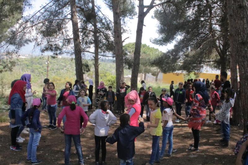 رحلة ترفيهيّة لمنتسبي ناشط ومتطوعيها وعائلاتهم