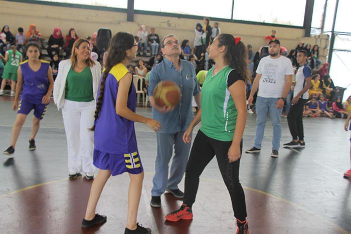 """جمعية ناشط الثقافية الاجتماعية تختتم دورة الباسكت الثانية تحت عنوان """" كأس موجودين """""""