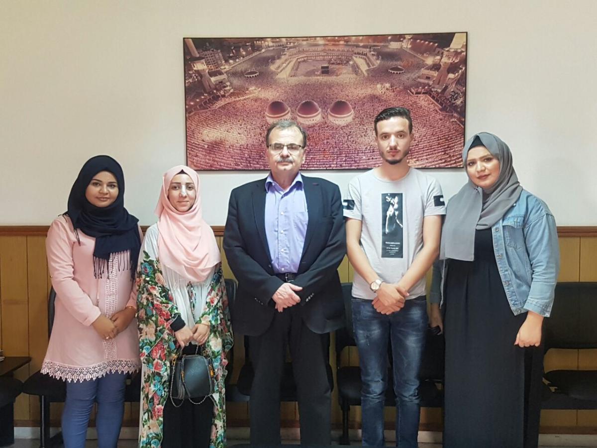 جمعية ناشط تلتقي الدكتور عبدالرحمن البزري