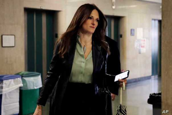Donna Rotunno, Harvey Weinstein's attorney, arrives arrives at court for his rape trial, in New York, Tuesday, Feb. 4, 2020. …