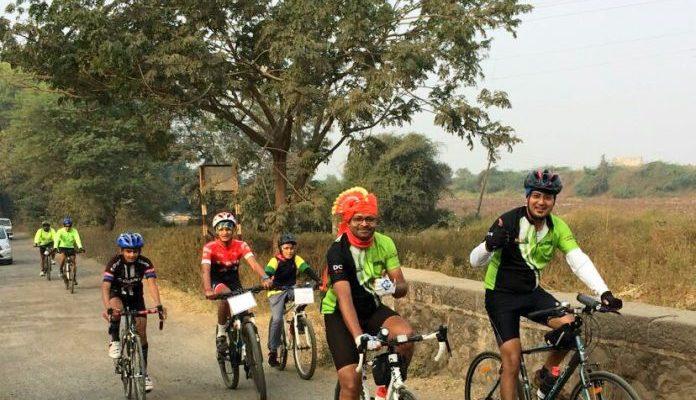 Nashik Cyclists Nashik Randonneurs Milers century ride nandurmadhyameshwar