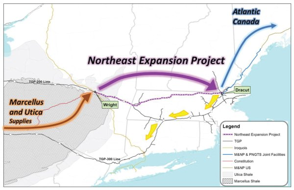 What is the 'Northeast Energy Direct' Pipeline Project ...