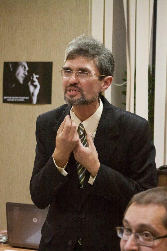 Автор журнала «Урал» Дмитрий Шкарин