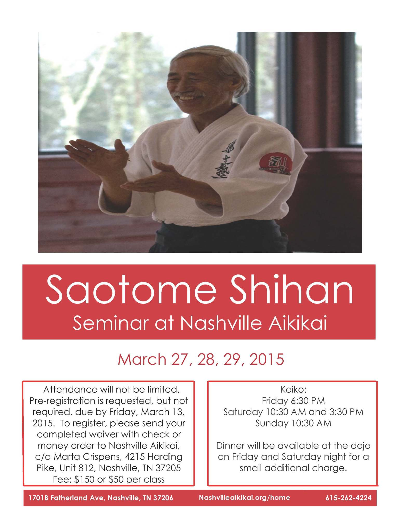 Saotome Flyer March 2015 for wordpress