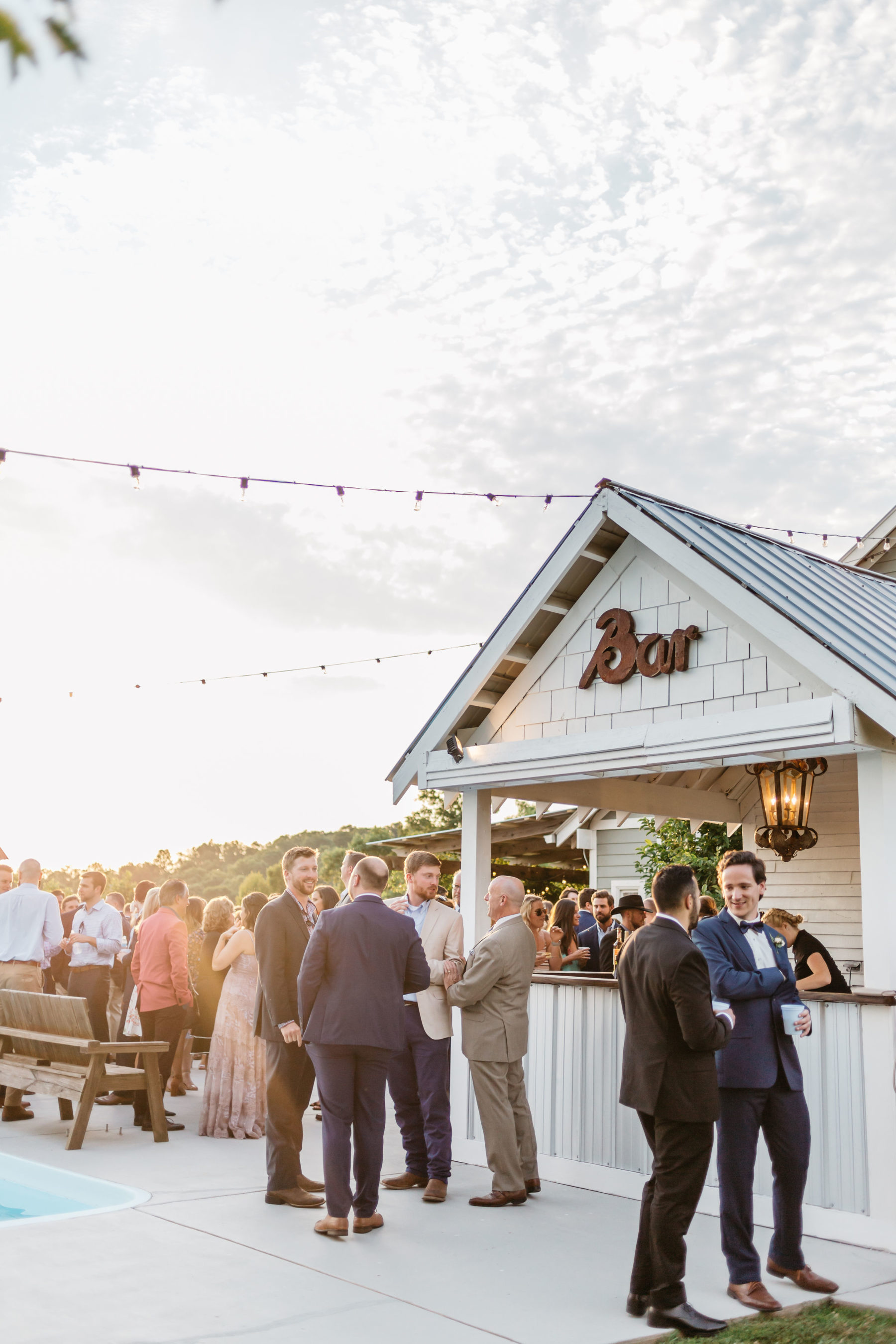 Rustic Front Porch Farms wedding featured on Nashville Bride Guide