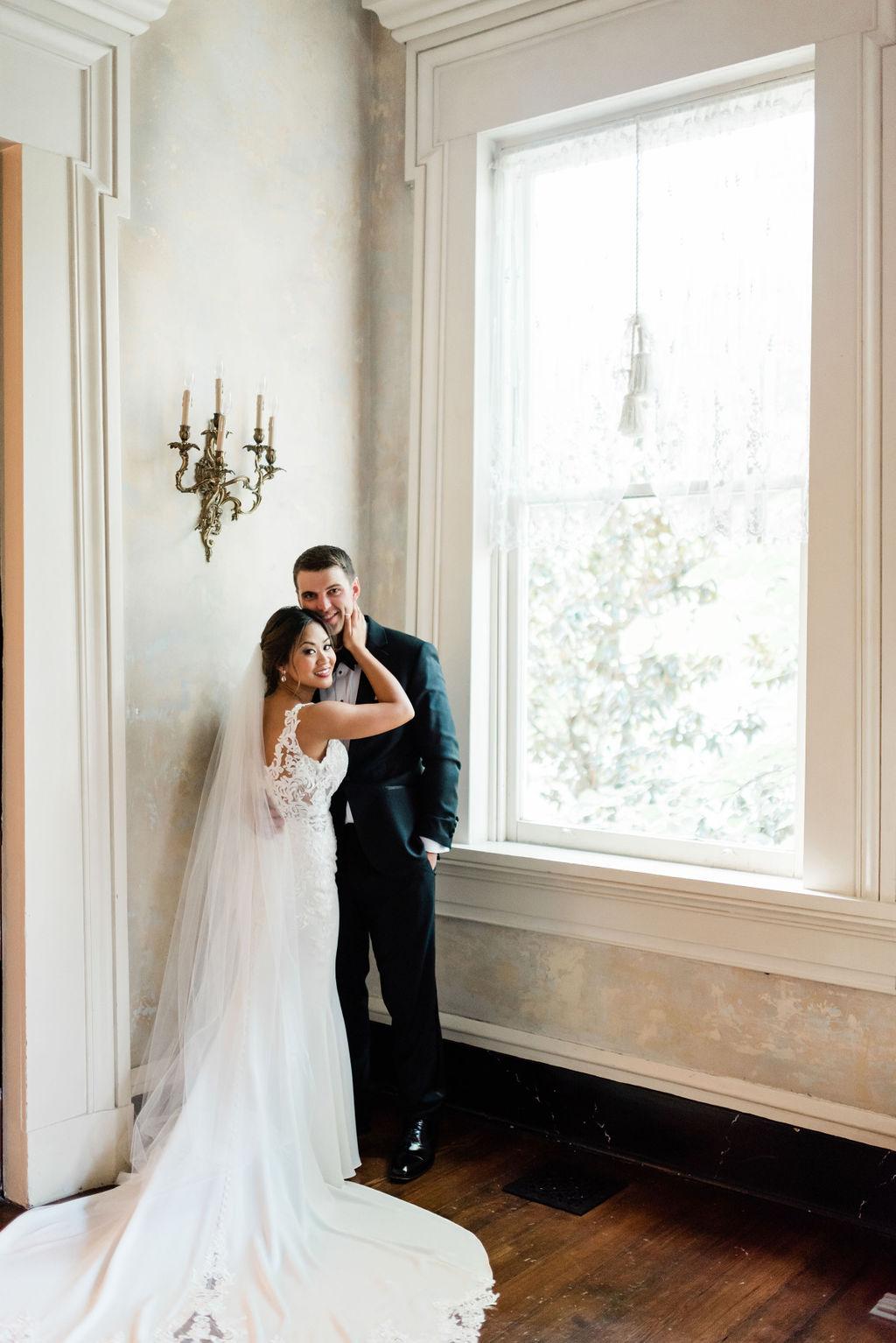 Wedding portrait by Nashville wedding photographer Maria Gloer Photography