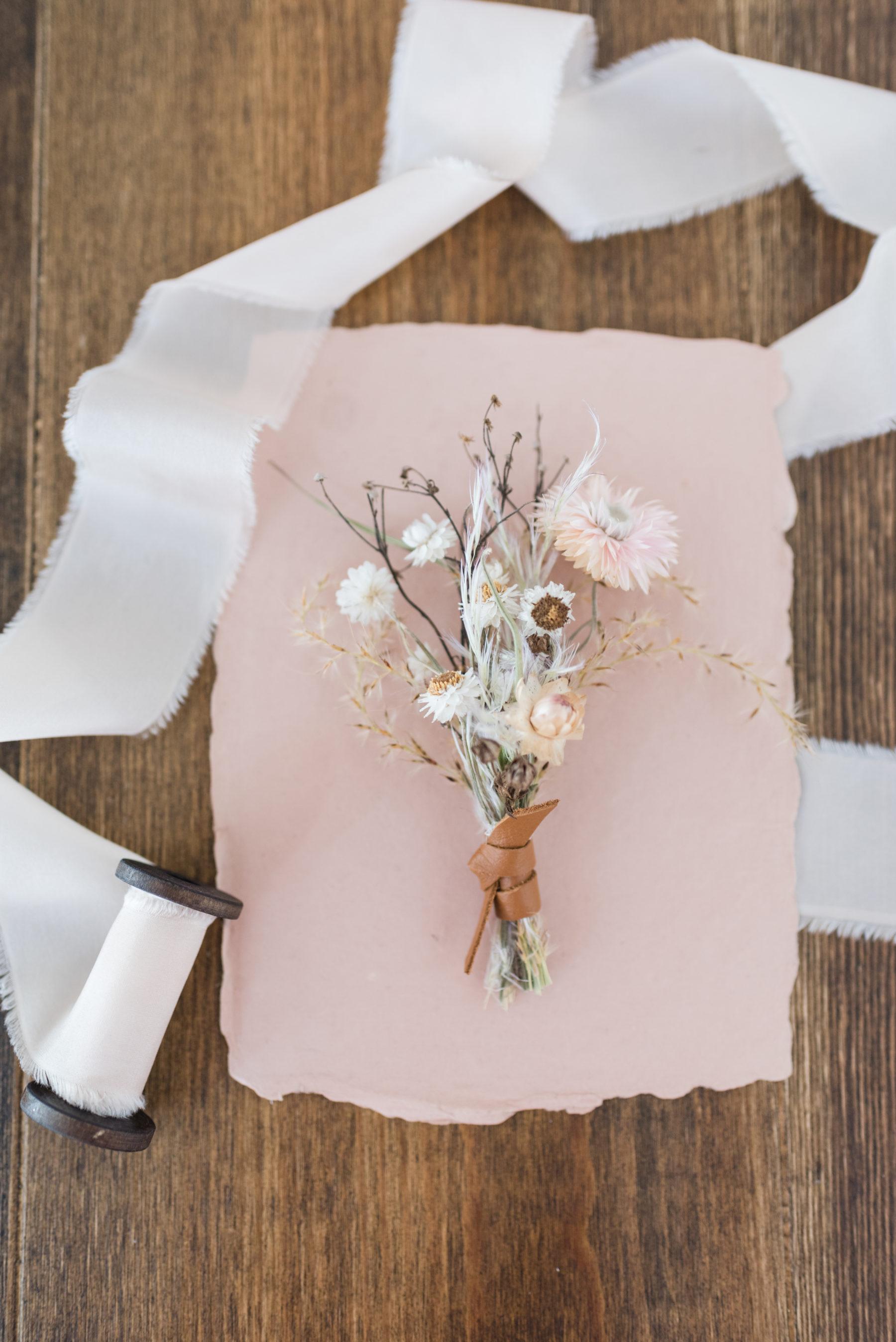 Organic Wedding Bouquet: Organic Eco-Friendly Wedding Styled Shoot featured on Nashville Bride Guide