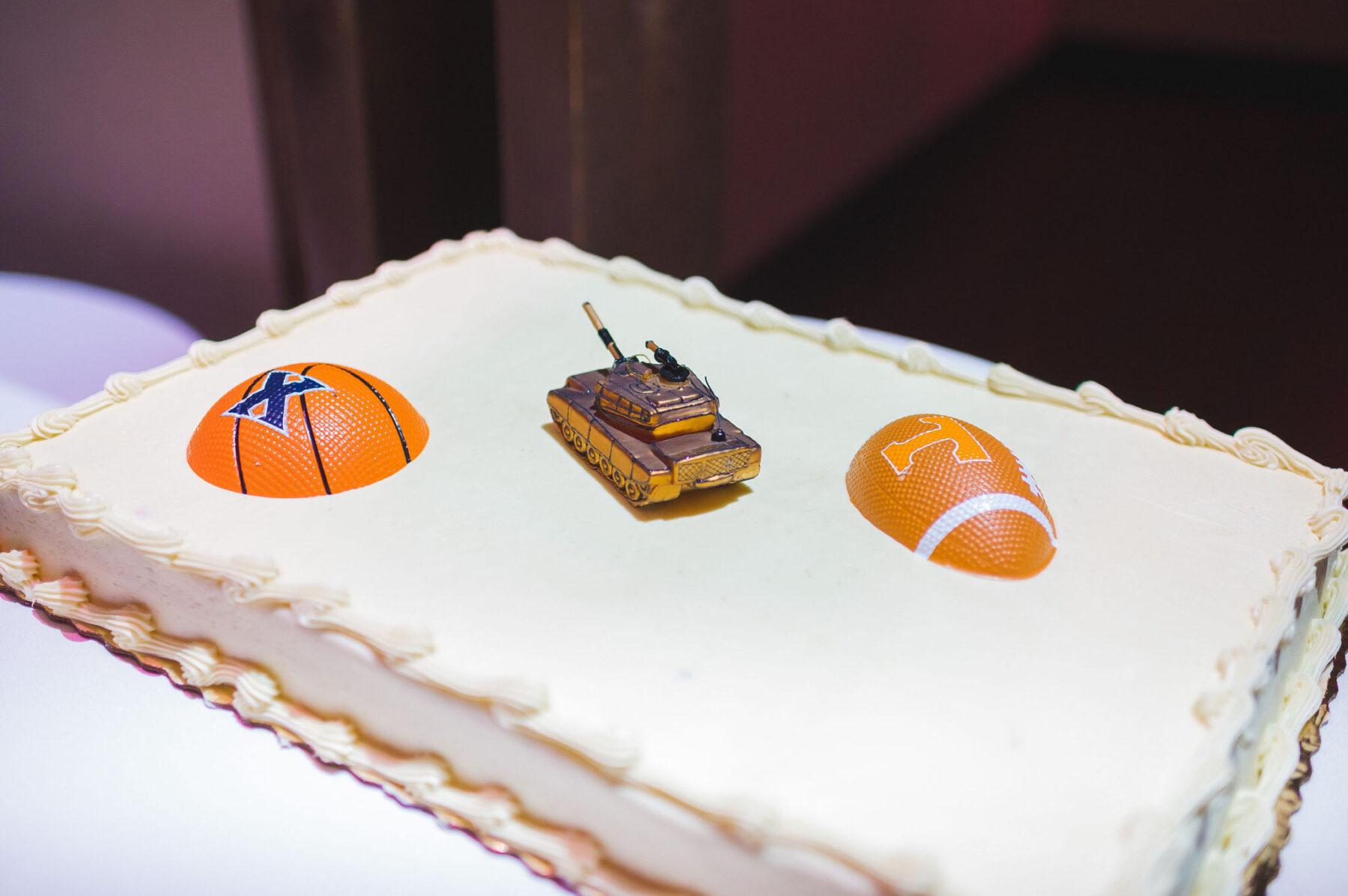Groom's cake: Classic Winter Wedding by Details Nashville
