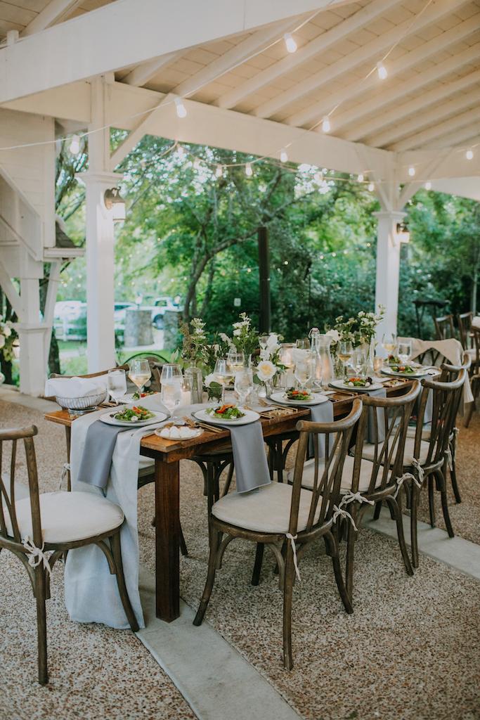 Wedding reception inspiration: Summer Soiree at Cedarwood Weddings featured on Nashville Bride Guide
