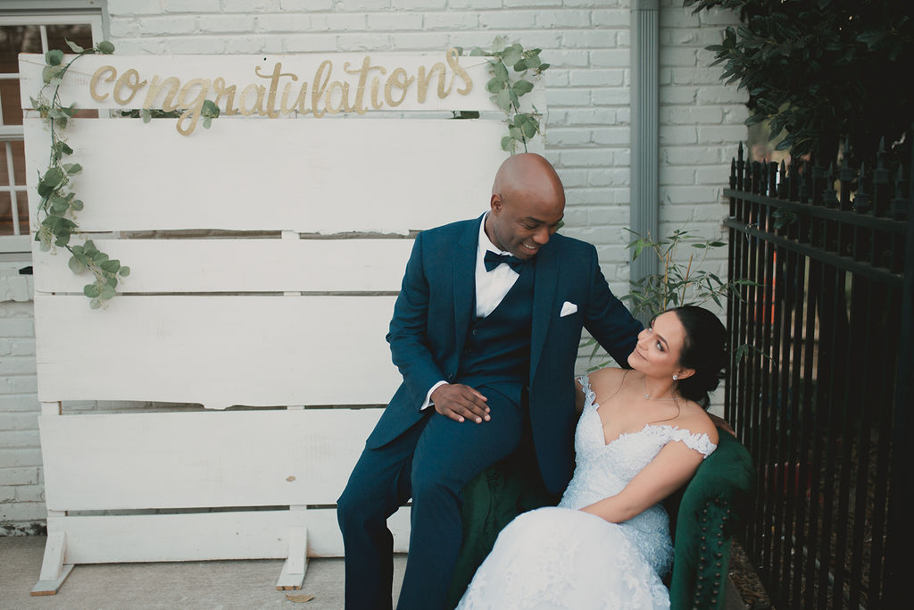 Romantic Outdoor Wedding at Reunion Stay