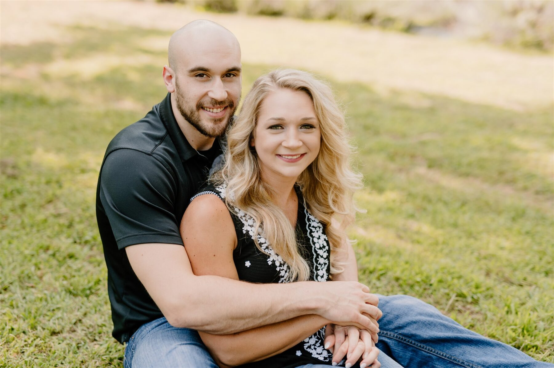 Scenic Engagement Session at Menkveld Farm captured by Sara Bill Photography