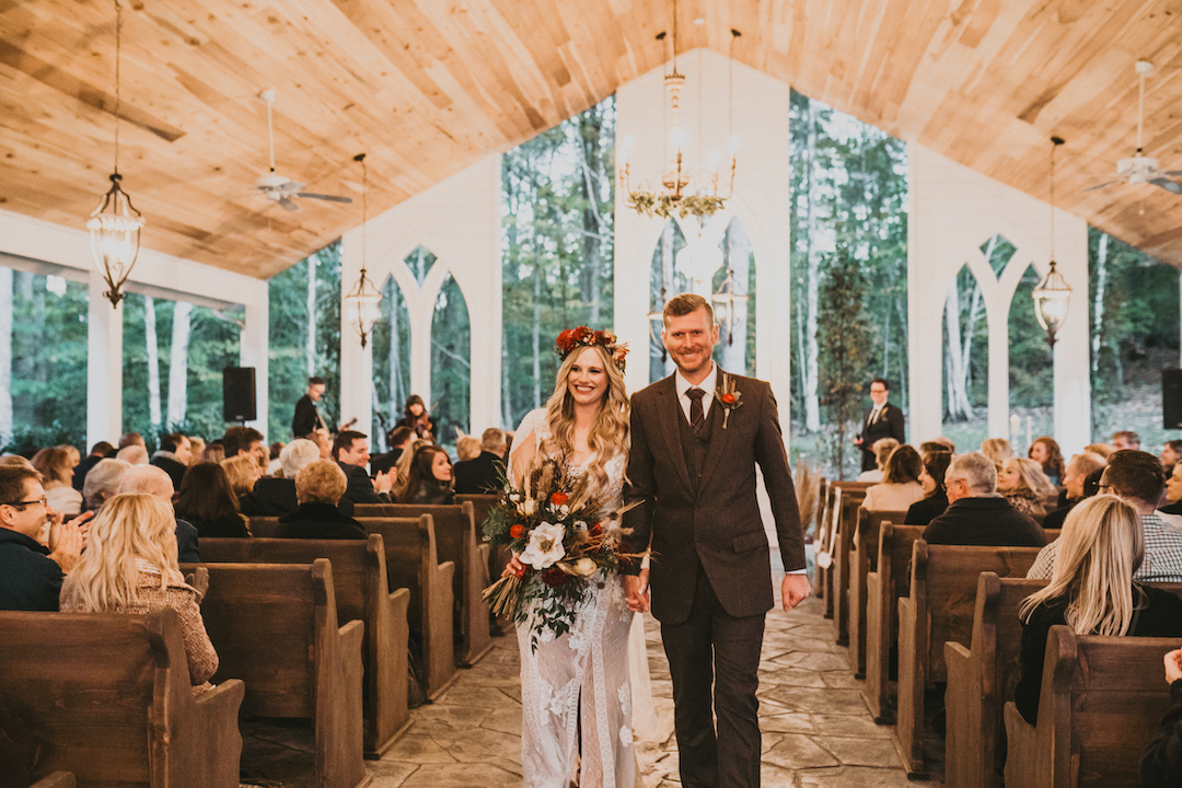 Vintage fall wedding at Firefly Lane featured on Nashville Bride Guide