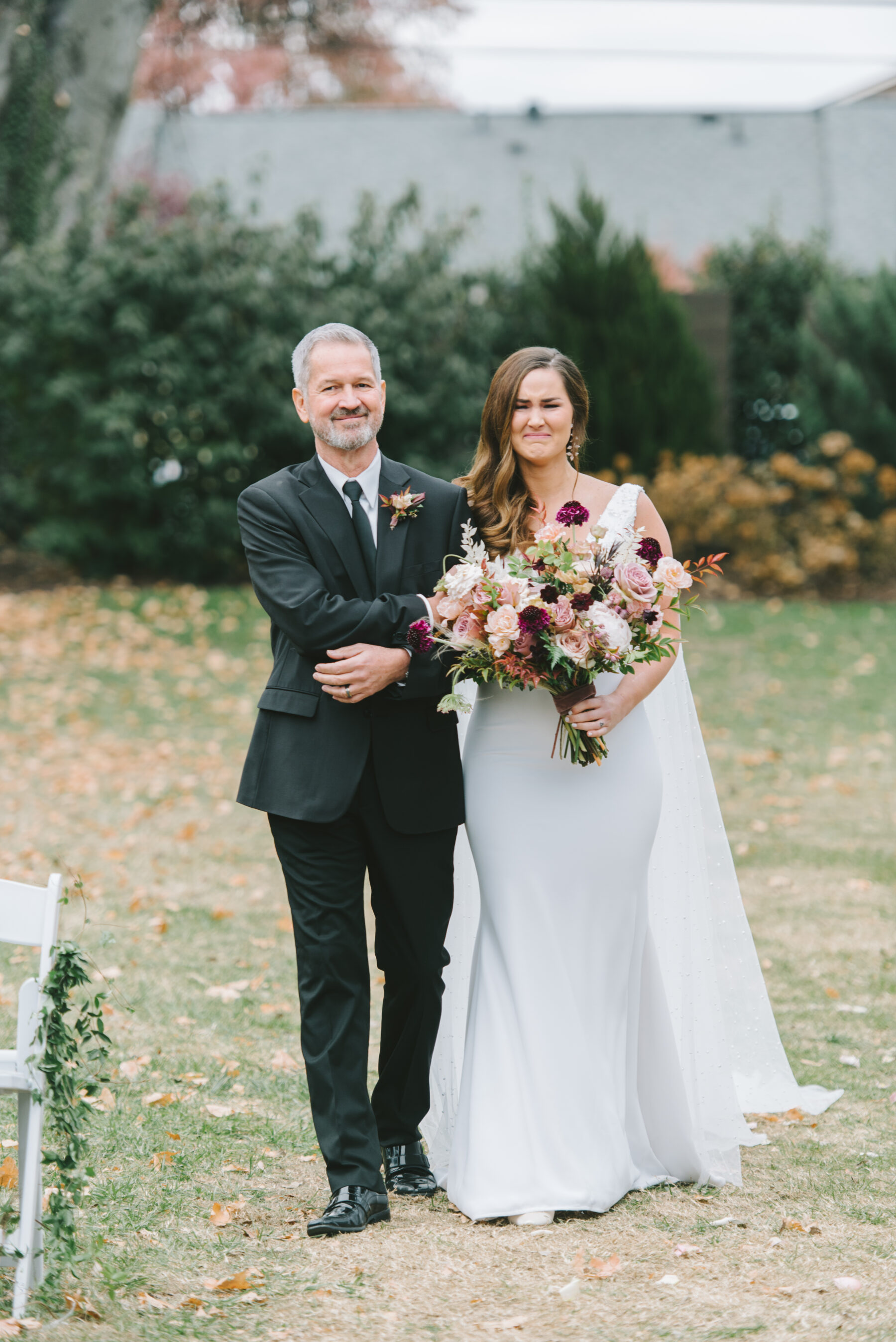 Father escorting his daughter down the aisle   Nashville Bride Guide