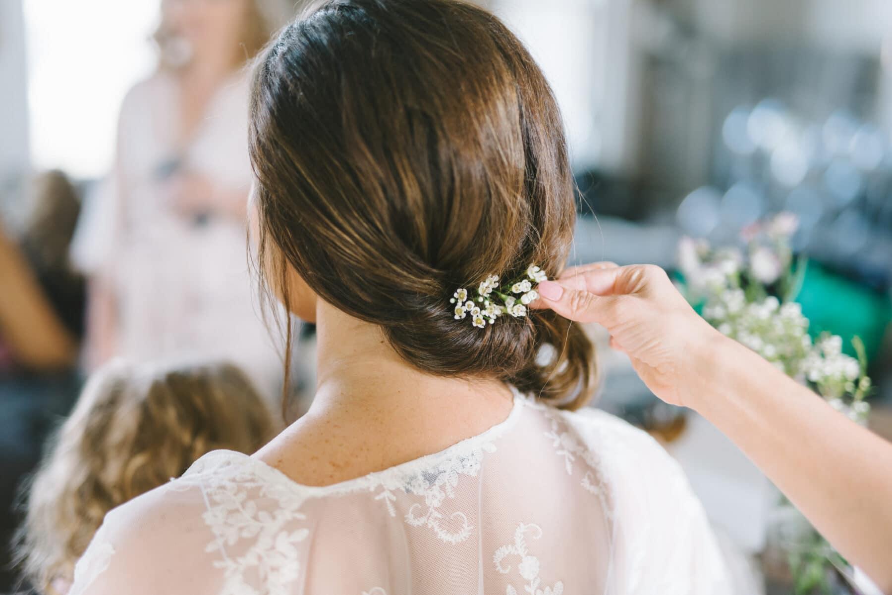 Dainty Floral Wedding Hair Accessory   Nashville Bride Guide