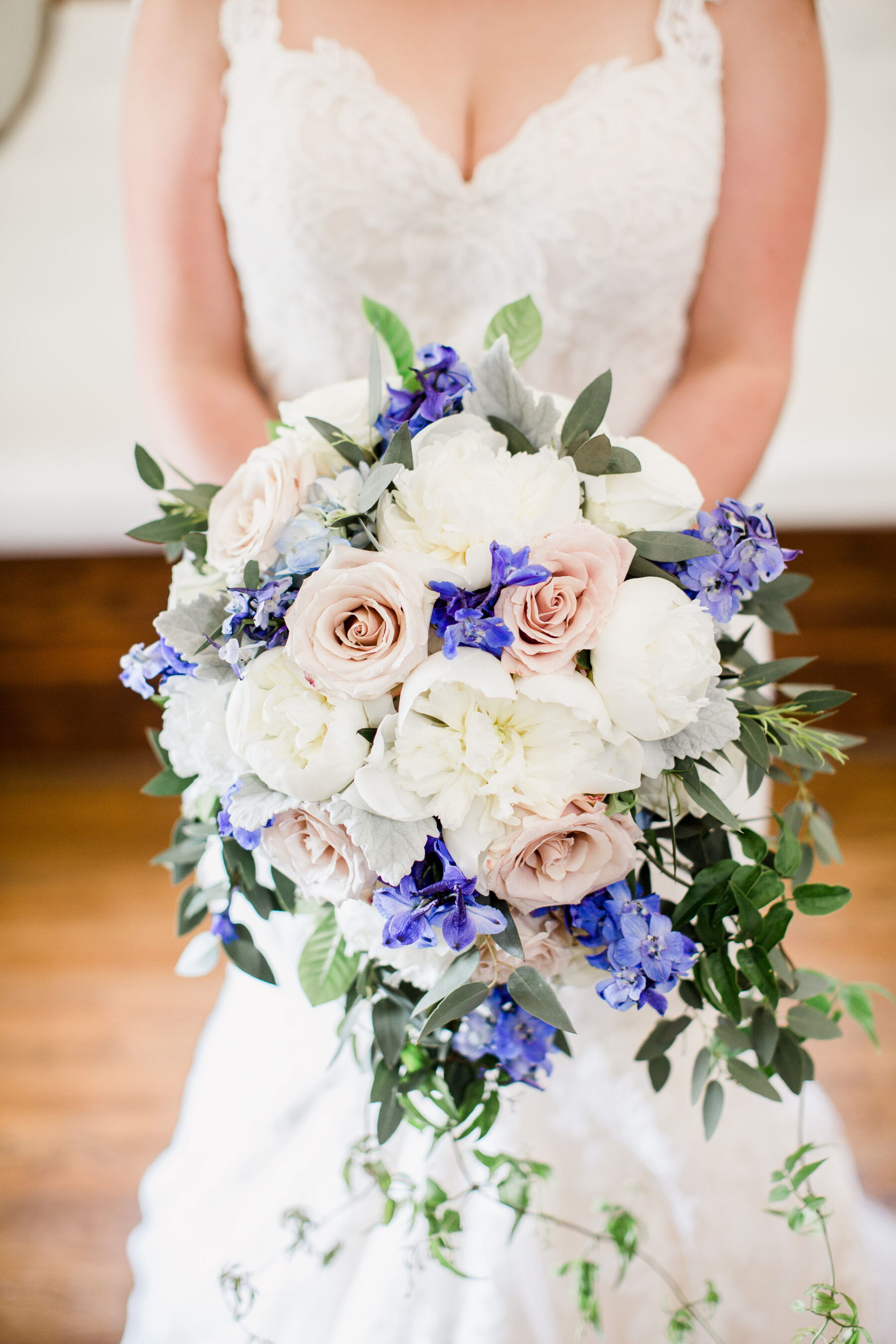 Enchanted Florist Wedding Bouquet Romantic Garden Wedding at CJ's Off the Square   Nashville Bride Guide
