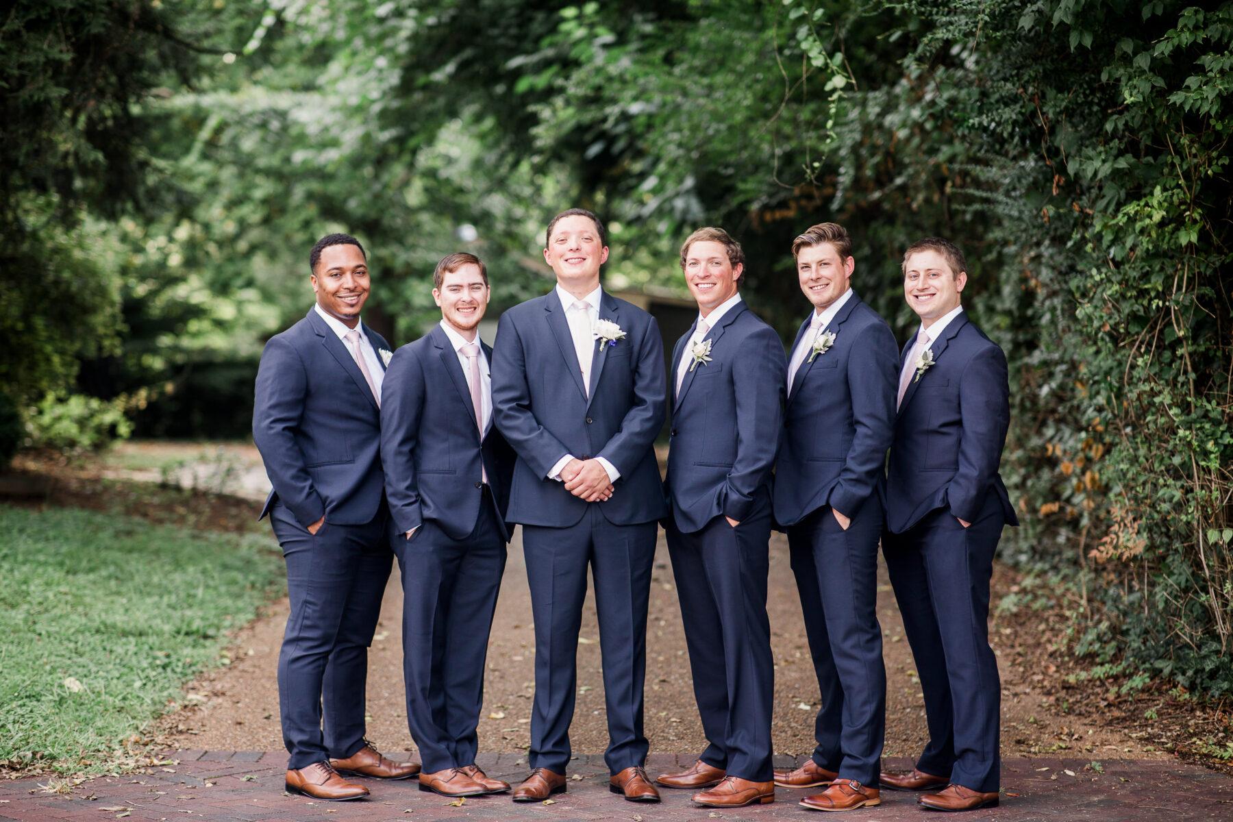 Navy wedding tuxedo from The Black Tux   Nashville Bride Guide
