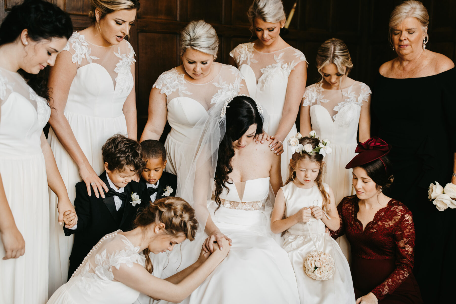 Bridal party wedding prayer | Nashville Bride Guide
