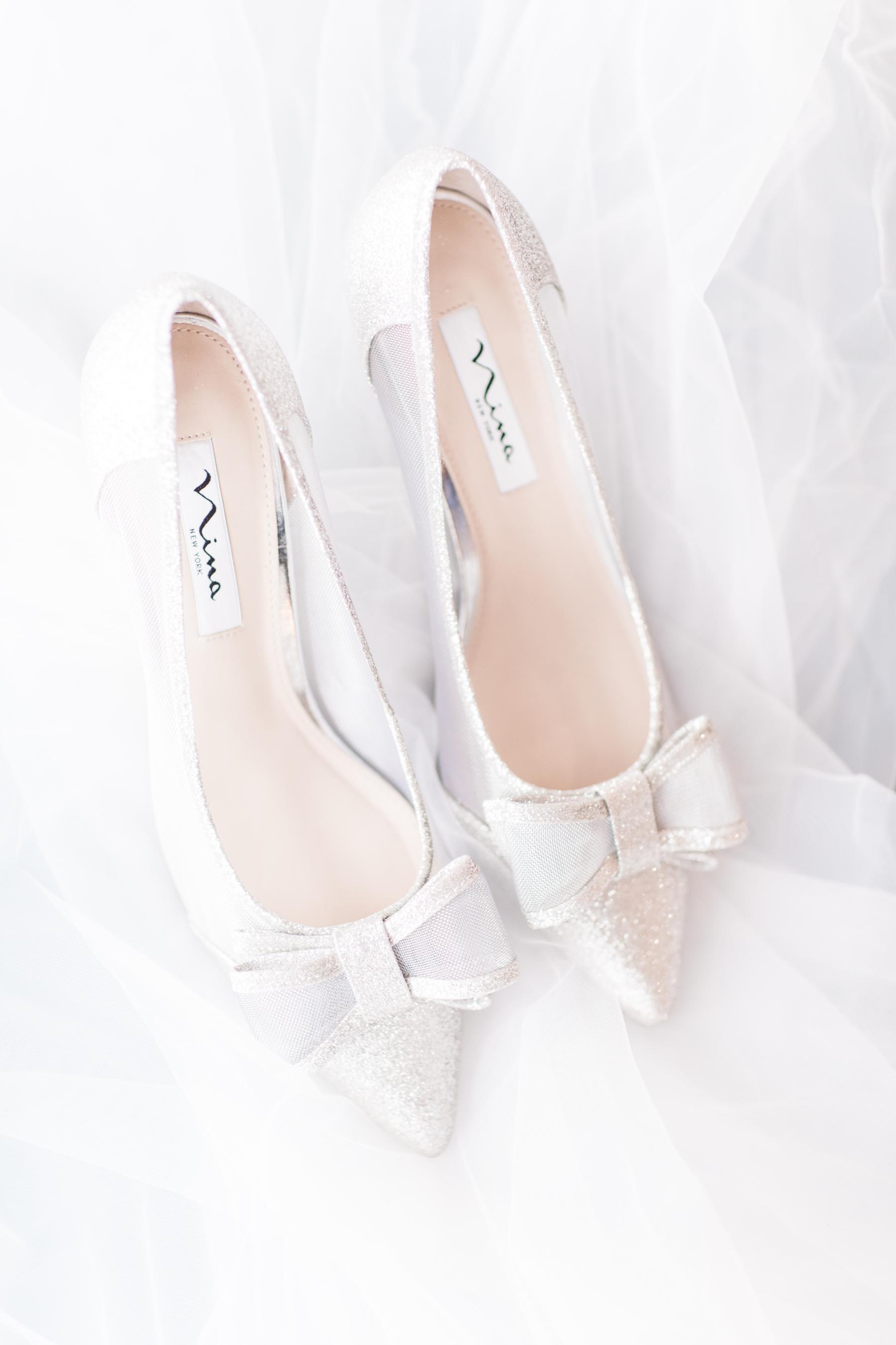 Bow Tie Nina Bridal Shoes