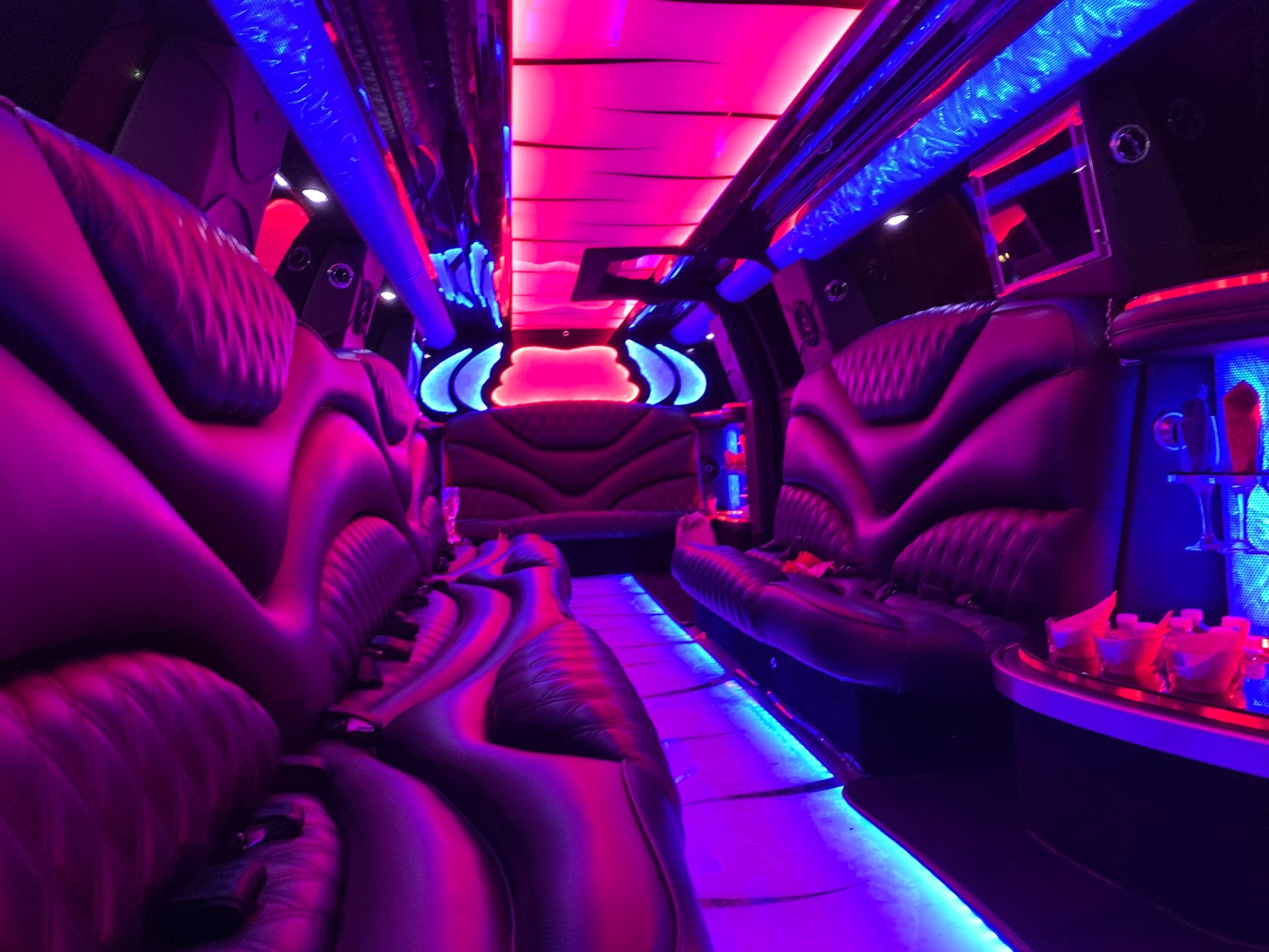 2019 Escalade Limousine8-Nashville-Chauffeur