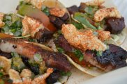 "Smoke Et Al took 3rd Place in Best Taco with their ""Pork Belly and Chicharones Tacos"""
