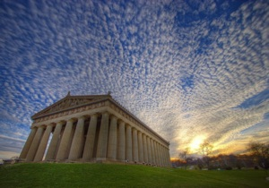 Photo of Nashville Parthenon © Chris Wage.  Used with permission.  www.chriswage.com